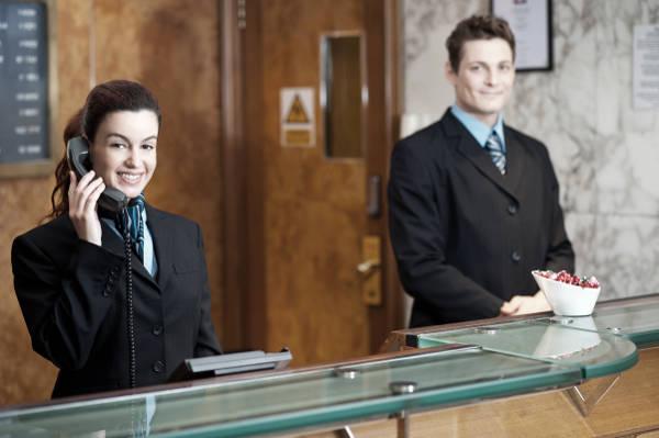 corso di addetto alla reception receptionist
